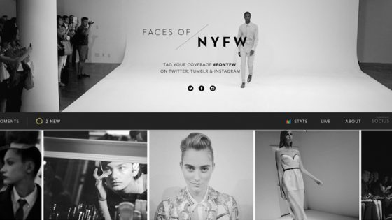Faces of New York Fashion Week