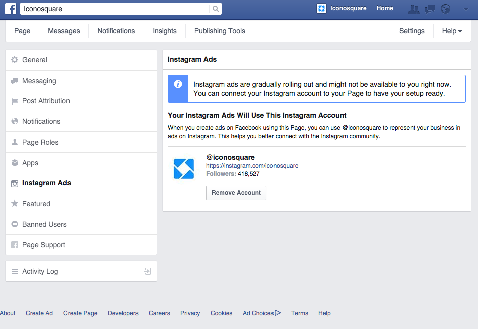 How to add an Instagram account on Facebook Business Page