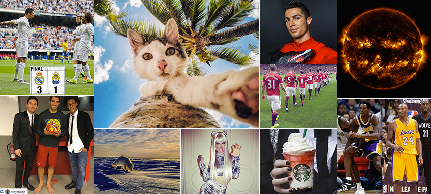 Instagram: TOP 10 most liked pictures of the week #54
