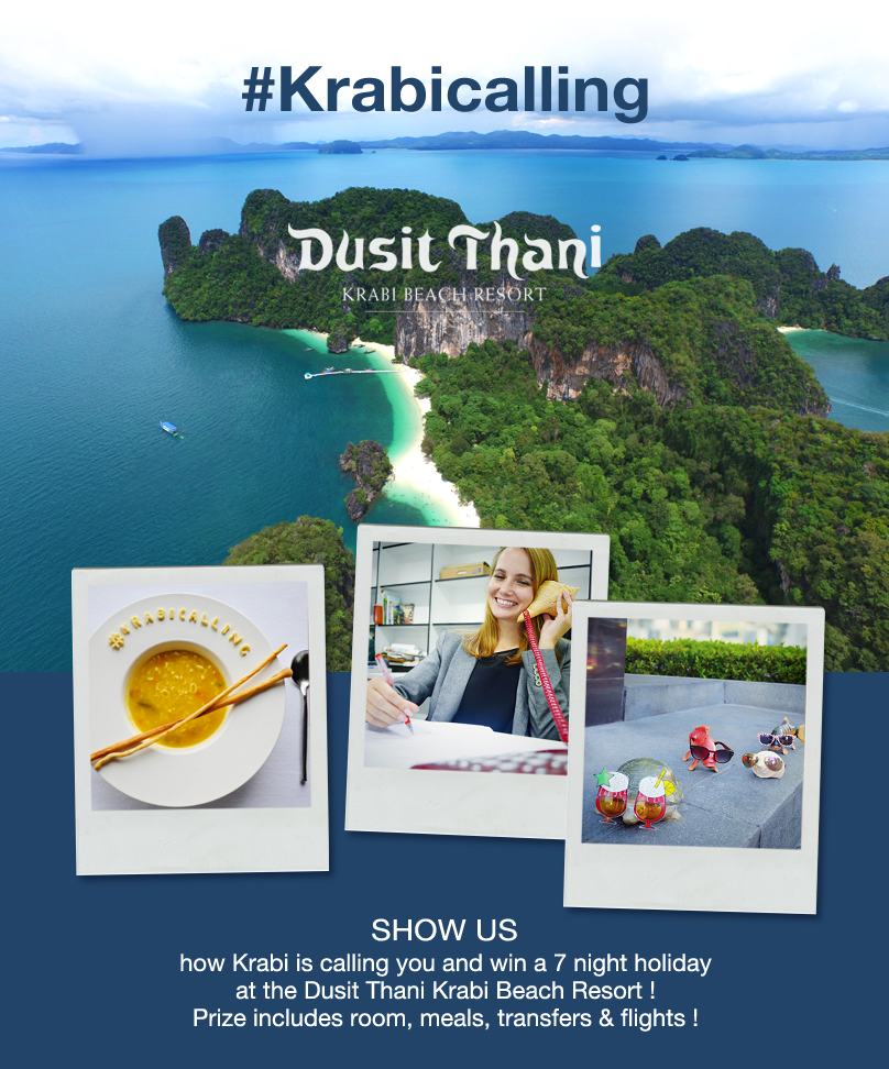 Dusit Thani Krabi Beach Resort s photo contest on Instagram   Iconosquare