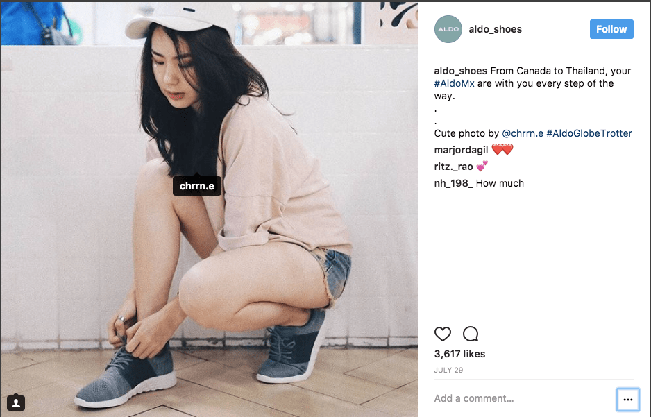 Storytelling for fashion brands on Instagram