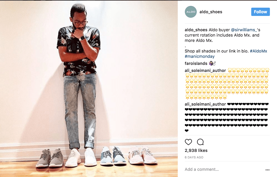 Storytelling tip for fashion brands on Instagram: make your pictures relatable!