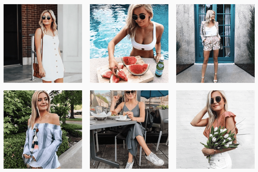 Chloe reed Instagram influencer marketing