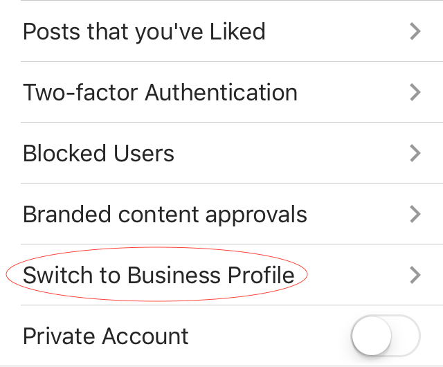 How to activate Business Profile on Instagram
