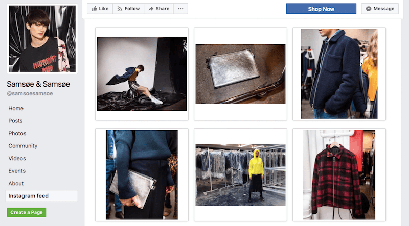 How to add Instagram feed on Facebook