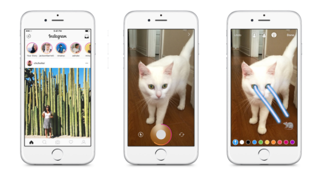 you can now send instagram stories through direct messages