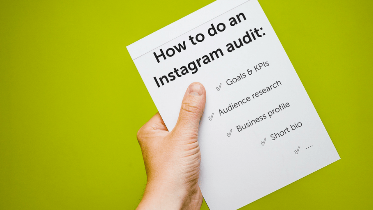 How to Do an Instagram Audit (To Clean & Grow Your Account)