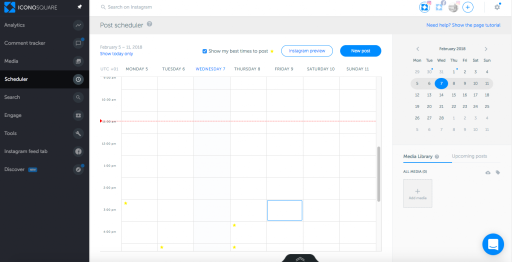 Iconosquare Guide: How to Schedule Instagram Posts for Direct Publishing