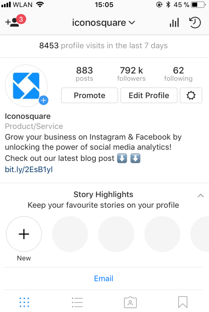 add highlights to drive Instagram traffic