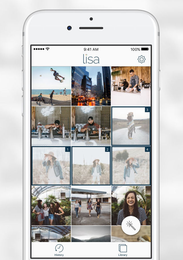 AskLisa is one of the best social media tools for image selection
