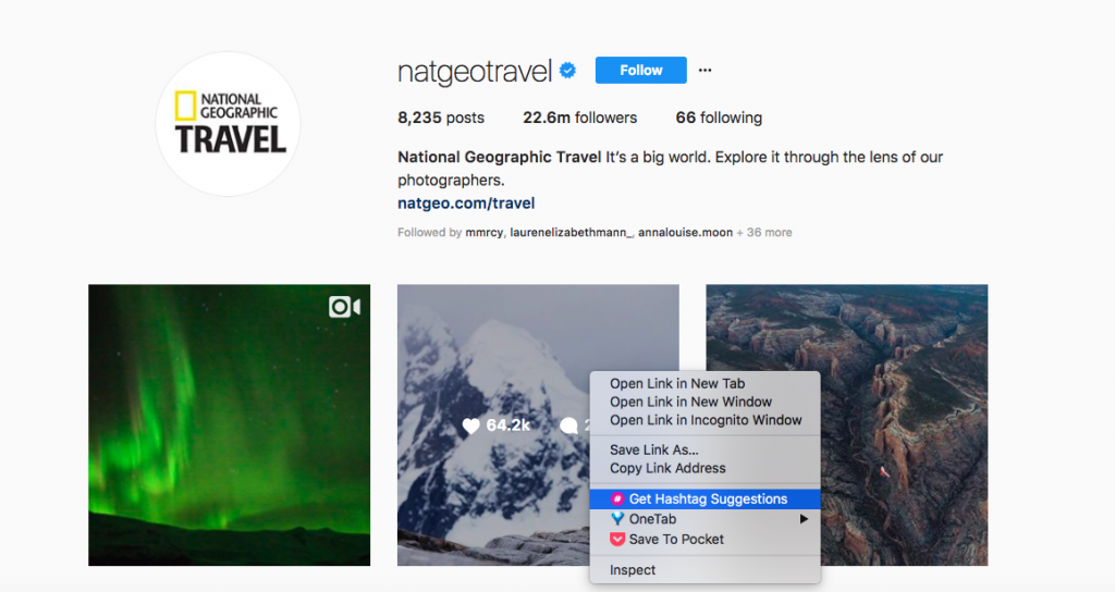 Get hashtags suggestions with Ritetag to grow your instagram