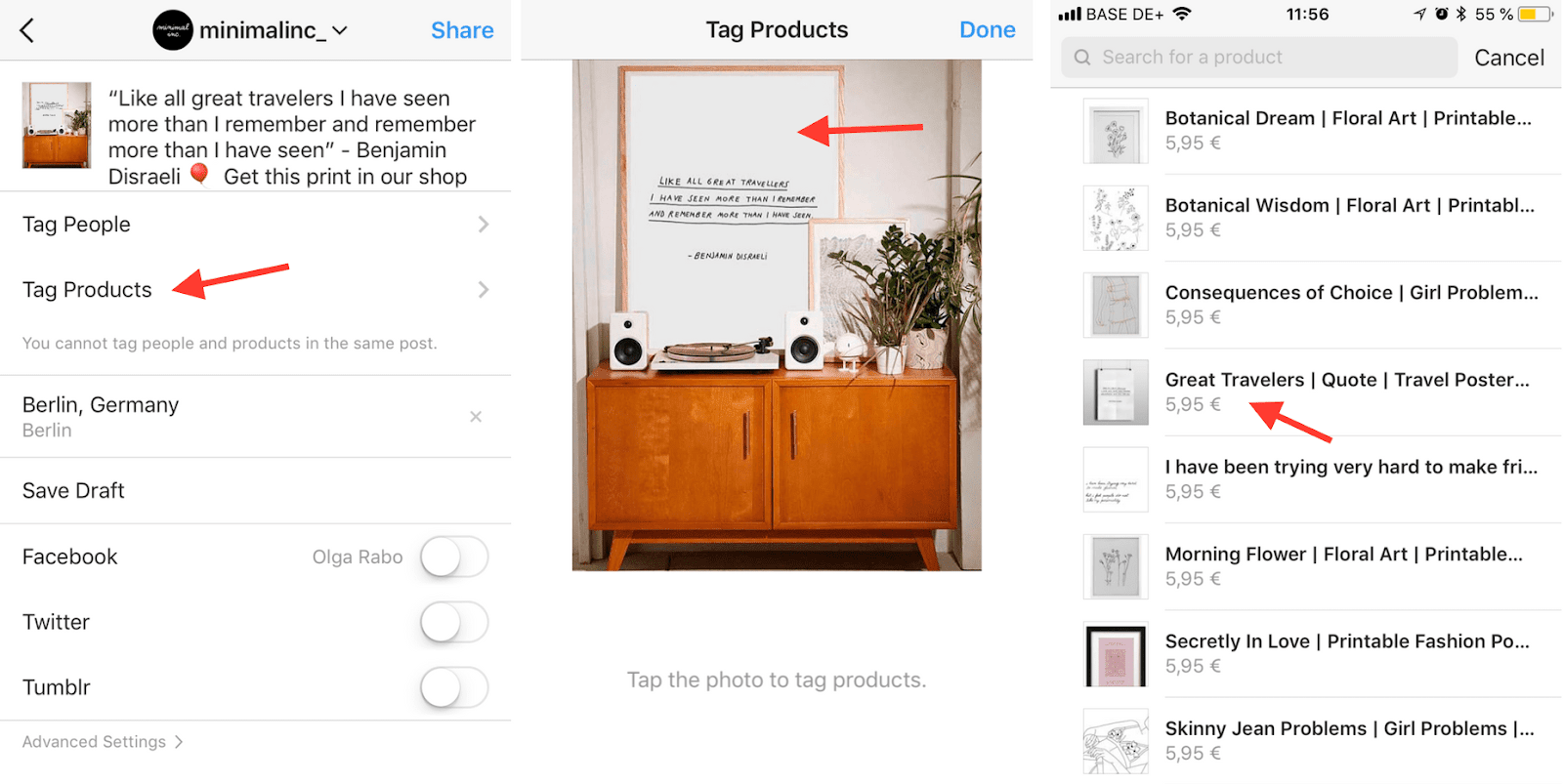 1058637f4e3 Creating a shoppable post on Instagram in 3 steps