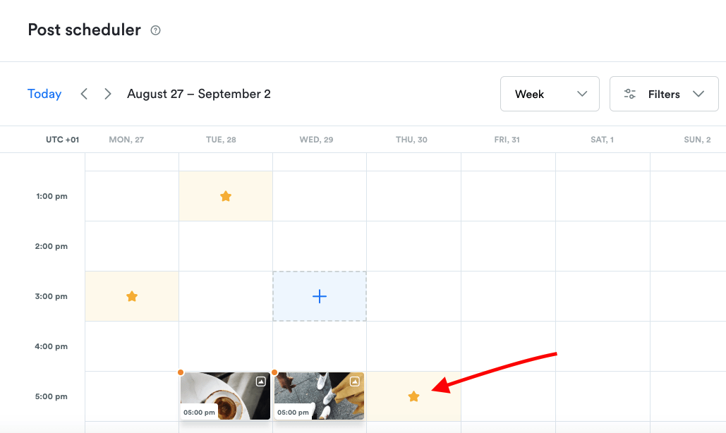 Find your best time to post on Instagram with Iconsoquare's Scheduler