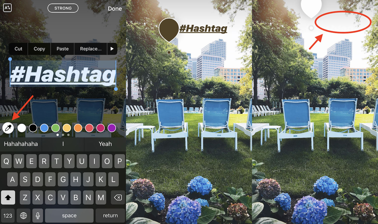 Make Instagram hashtags invisible (Instagram tips from Iconosquare)
