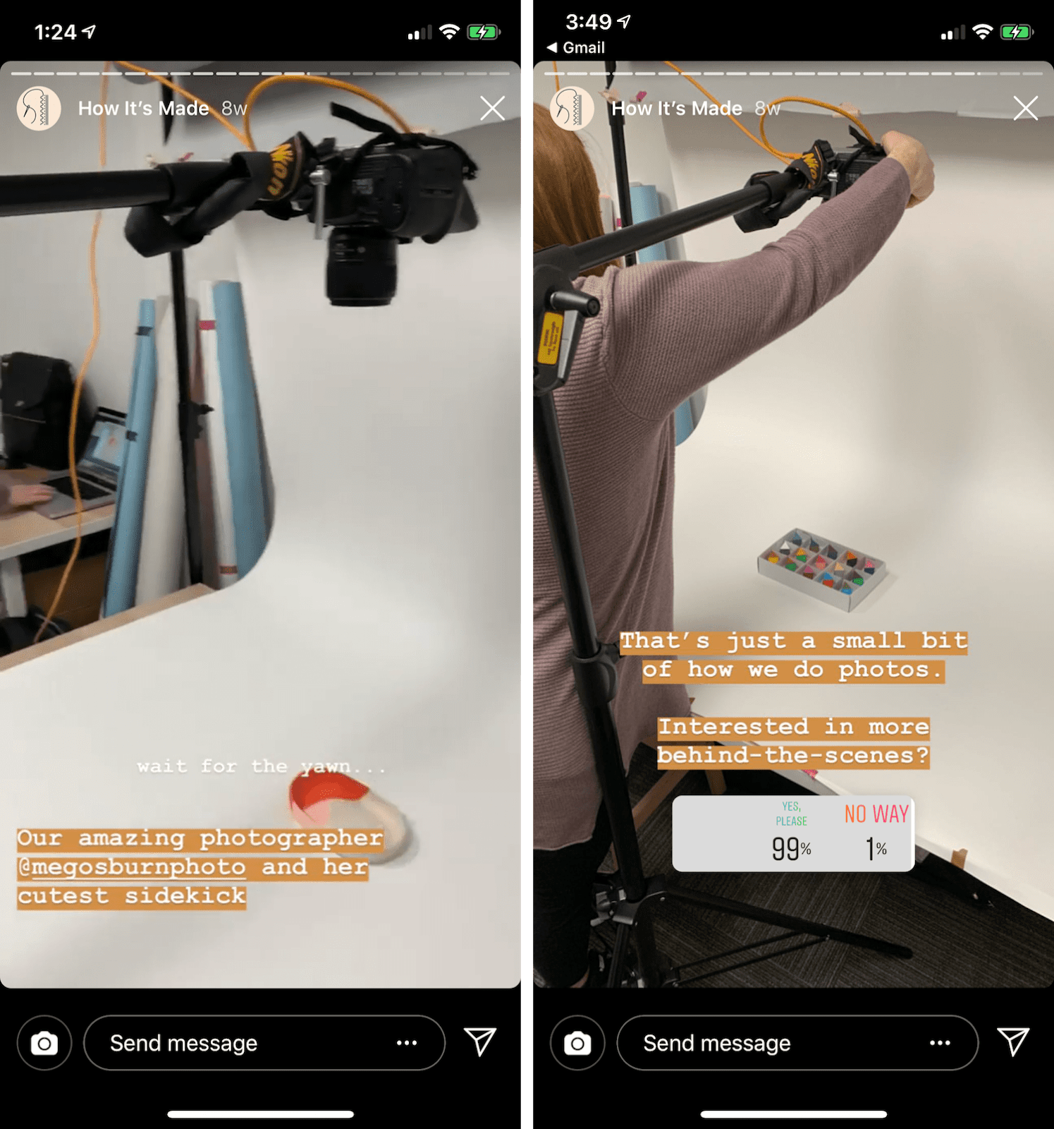 Audience surveying with Instagram Polls min