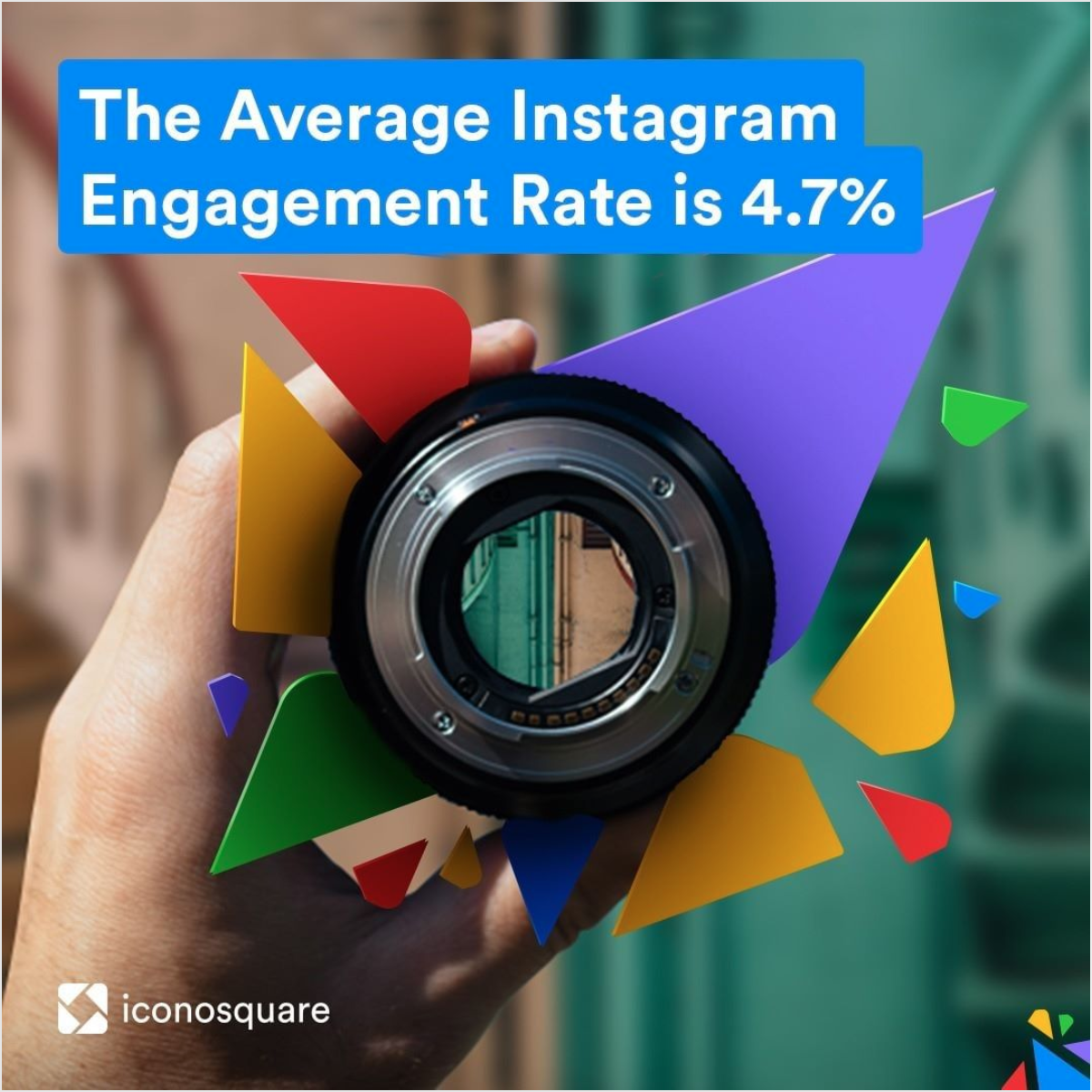 Copy and creative for an Instagram ad