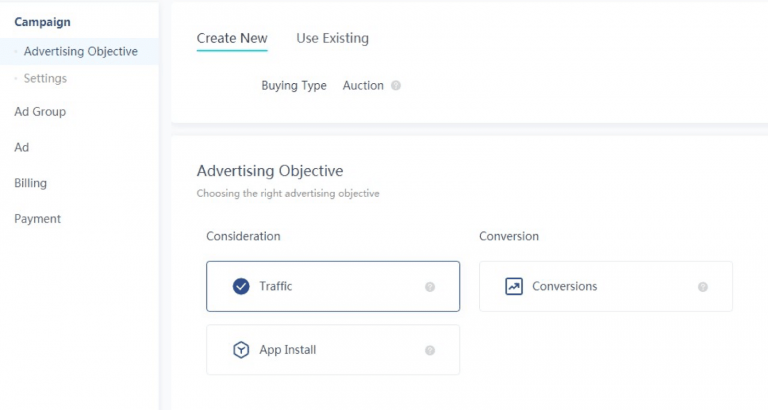 tiktok ads advertising objectives min 768x410